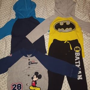 Other - 2T toddler long sleeve shirts and jacket